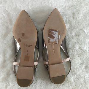 Coach Shoes - Coach Wooster Slingback Flats Sandal (Bin: S2)